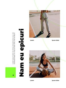 스포티 한 컨셉 레이아웃 디자인 템플릿 구글 슬라이드_03