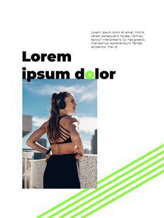 스포티 한 컨셉 레이아웃 디자인 템플릿 구글 슬라이드_09