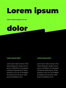 스포티 한 컨셉 레이아웃 디자인 템플릿 구글 슬라이드_10
