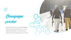 겨울 눈 파워포인트 프레젠테이션 슬라이드_04