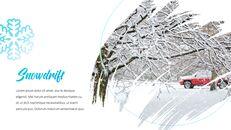 겨울 눈 파워포인트 프레젠테이션 슬라이드_09
