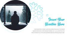 겨울 눈 파워포인트 프레젠테이션 슬라이드_12