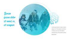 겨울 눈 파워포인트 프레젠테이션 슬라이드_21