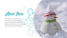 겨울 눈 파워포인트 프레젠테이션 슬라이드_23