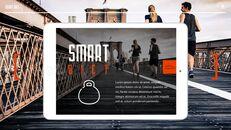 스마트 다이어트 앱 배경 파워포인트_05