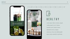 스마트 다이어트 앱 배경 파워포인트_15