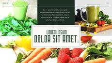 스마트 다이어트 앱 배경 파워포인트_19
