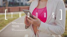 스마트 다이어트 앱 배경 파워포인트_40