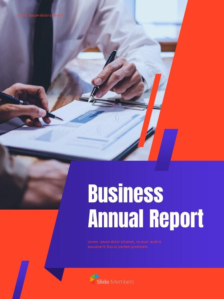 비즈니스 다목적 연례 보고서 제안 프레젠테이션 템플릿_01