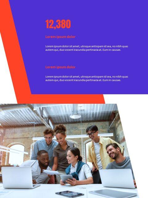 비즈니스 다목적 연례 보고서 제안 프레젠테이션 템플릿_04