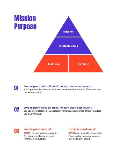 비즈니스 다목적 연례 보고서 제안 프레젠테이션 템플릿_08