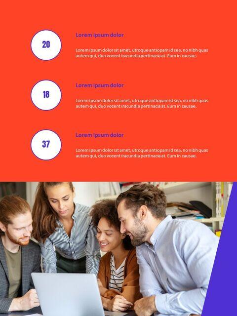 비즈니스 다목적 연례 보고서 제안 프레젠테이션 템플릿_10
