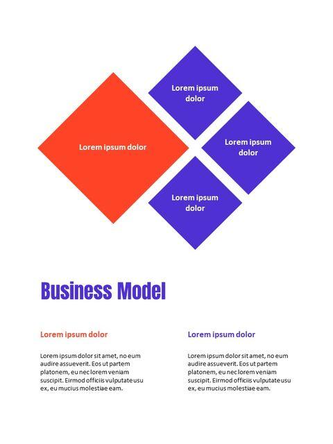 비즈니스 다목적 연례 보고서 제안 프레젠테이션 템플릿_12