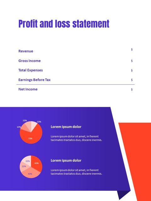 비즈니스 다목적 연례 보고서 제안 프레젠테이션 템플릿_20
