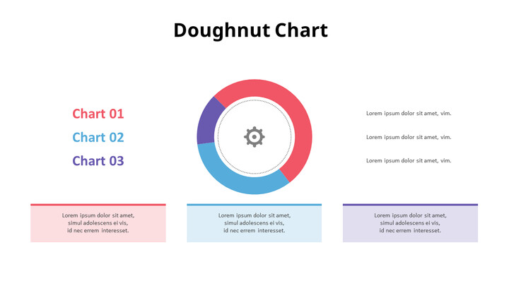 3 개 부문의 도넛 차트_01