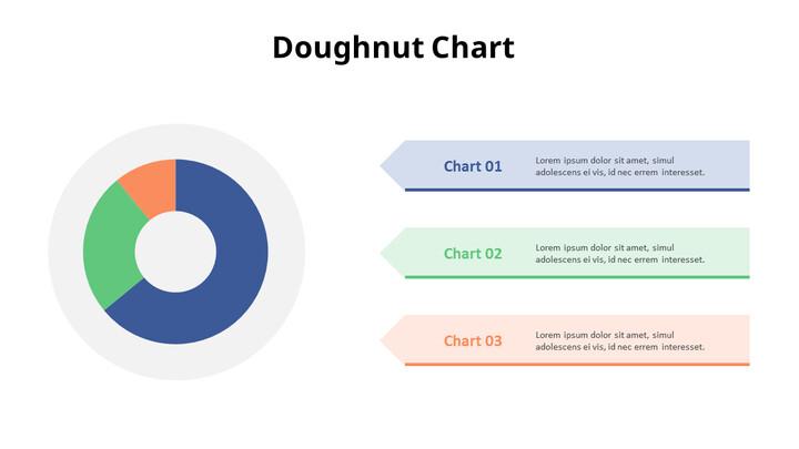 텍스트가있는 3 분할 도넛 형 차트_01