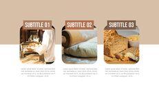 수제 빵 파워포인트 슬라이드 디자인_13