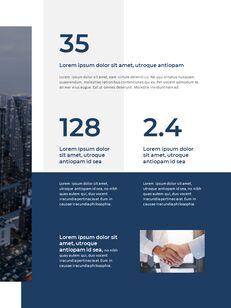Blue Layout 연례 보고서 베스트 프레젠테이션 디자인_07