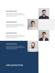 Blue Layout 연례 보고서 베스트 프레젠테이션 디자인_08