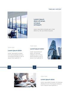 Blue Layout 연례 보고서 베스트 프레젠테이션 디자인_10