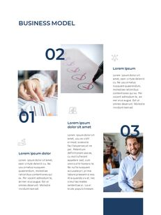 Blue Layout 연례 보고서 베스트 프레젠테이션 디자인_15