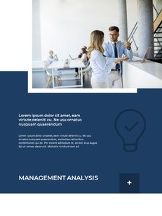 Blue Layout 연례 보고서 베스트 프레젠테이션 디자인_16