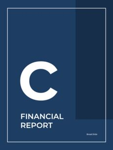 Blue Layout 연례 보고서 베스트 프레젠테이션 디자인_19