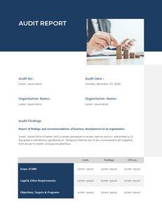 Blue Layout 연례 보고서 베스트 프레젠테이션 디자인_20
