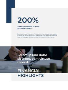 Blue Layout 연례 보고서 베스트 프레젠테이션 디자인_23