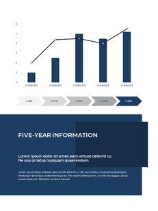 Blue Layout 연례 보고서 베스트 프레젠테이션 디자인_25