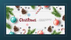 멋진 크리스마스 보내세요 모던한 PPT 템플릿_03