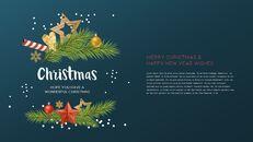 멋진 크리스마스 보내세요 모던한 PPT 템플릿_05
