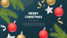 멋진 크리스마스 보내세요 모던한 PPT 템플릿_07