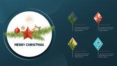 멋진 크리스마스 보내세요 모던한 PPT 템플릿_22