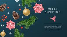 멋진 크리스마스 보내세요 모던한 PPT 템플릿_26