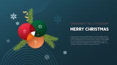 멋진 크리스마스 보내세요 모던한 PPT 템플릿_36