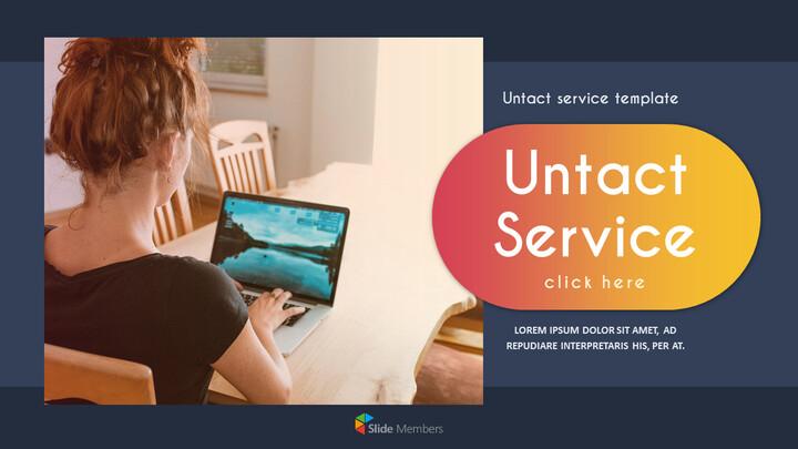 Untact 서비스 파워포인트용 템플릿_01
