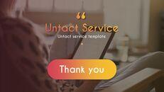 Untact 서비스 파워포인트용 템플릿_40