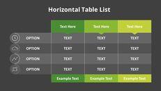 3 개의 수평 목록 테이블 세트_05