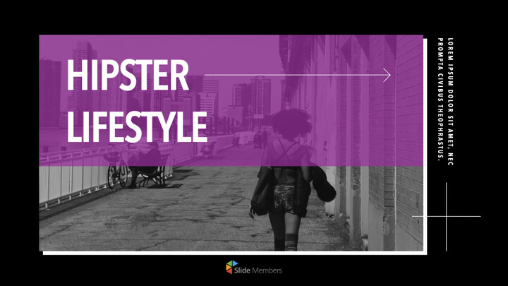Hipster Lifestyle team presentation template_01