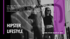 Hipster Lifestyle team presentation template_08