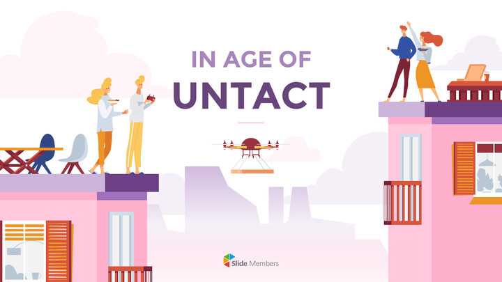 In Age of Untact powerpoint themes_01