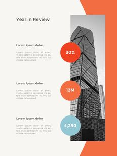 Abstract Annual Report Template PPT Presentation Samples_12