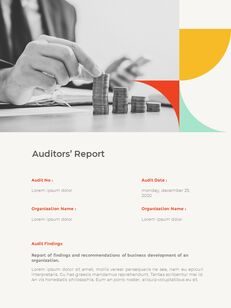 Abstract Annual Report Template PPT Presentation Samples_20