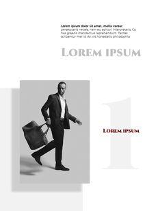 Homme Theme Desgin Template Google PowerPoint Slides_20