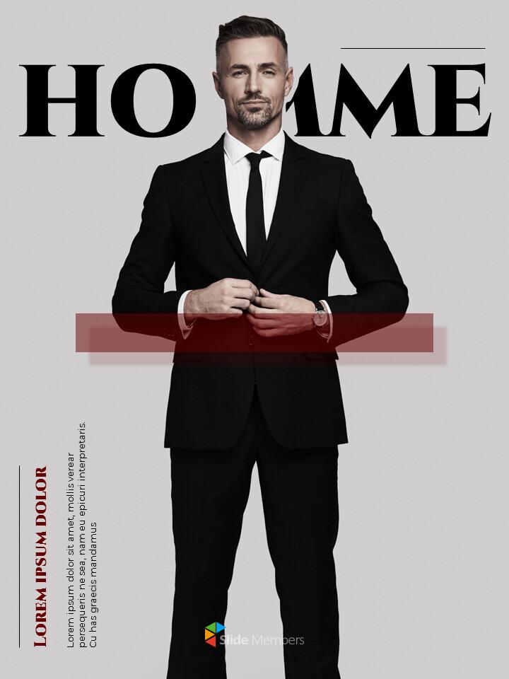 Homme Theme Desgin Template PowerPoint Templates_01