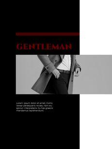 Homme Theme Desgin Template PowerPoint Templates_23