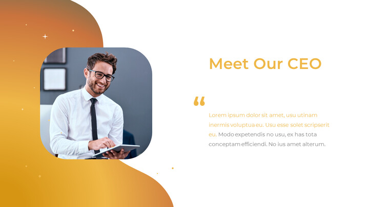 Incontra il nostro CEO Modello singolo_02