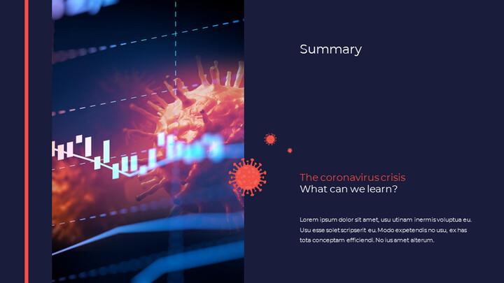 Covid 19 Economic Impact Presentation Template pitch presentation template_02