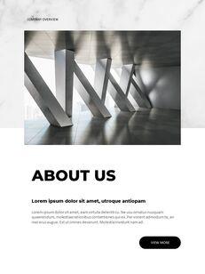 Marble Background Design Annual Report Google Presentation Templates_03